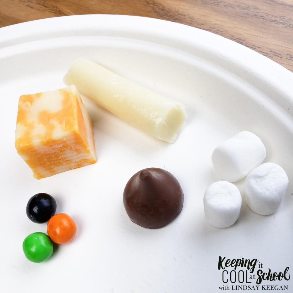 Foods shaped like 3d shapes