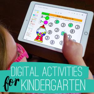 Digital Activities for Kindergarten