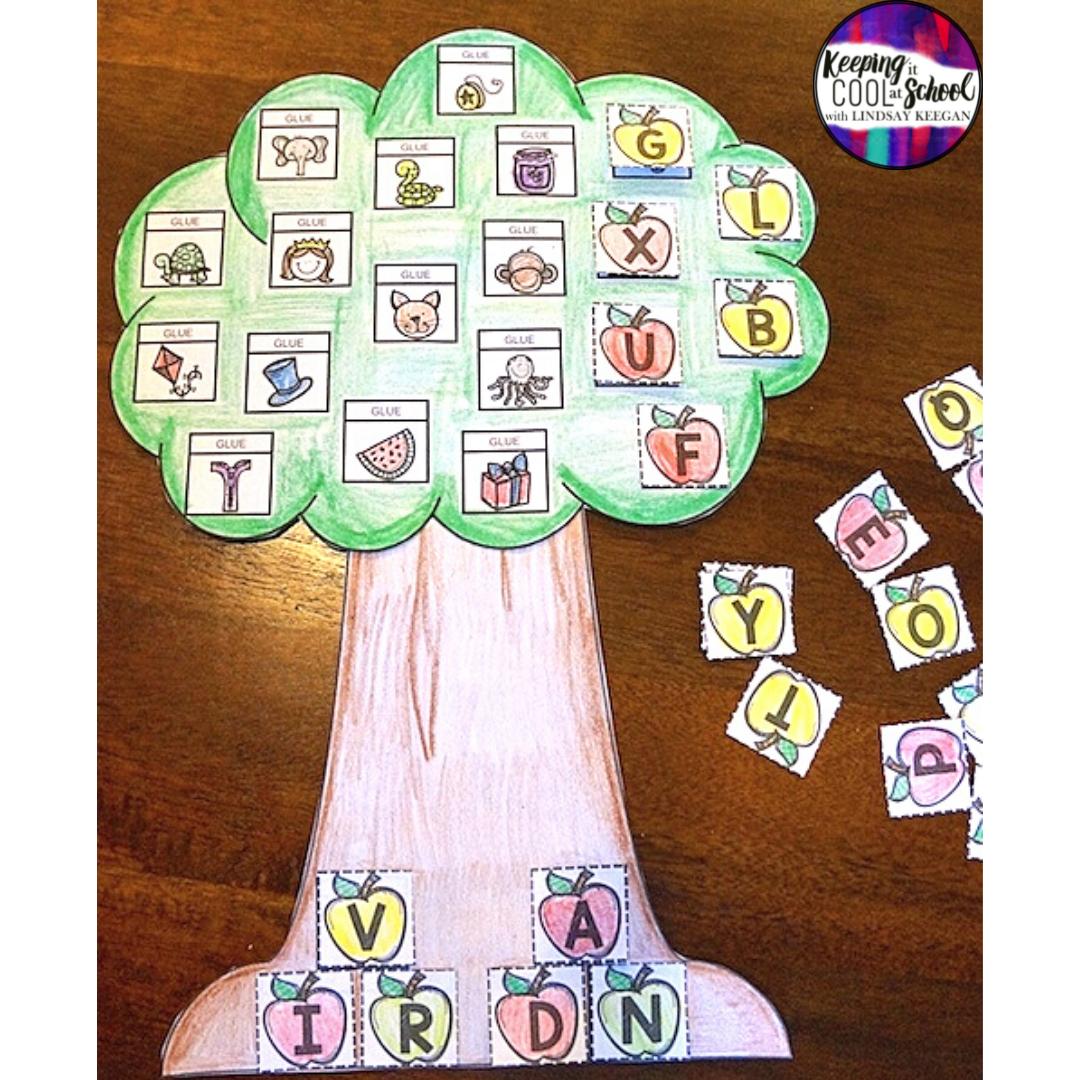 Apple Tree Craft for Alphabet