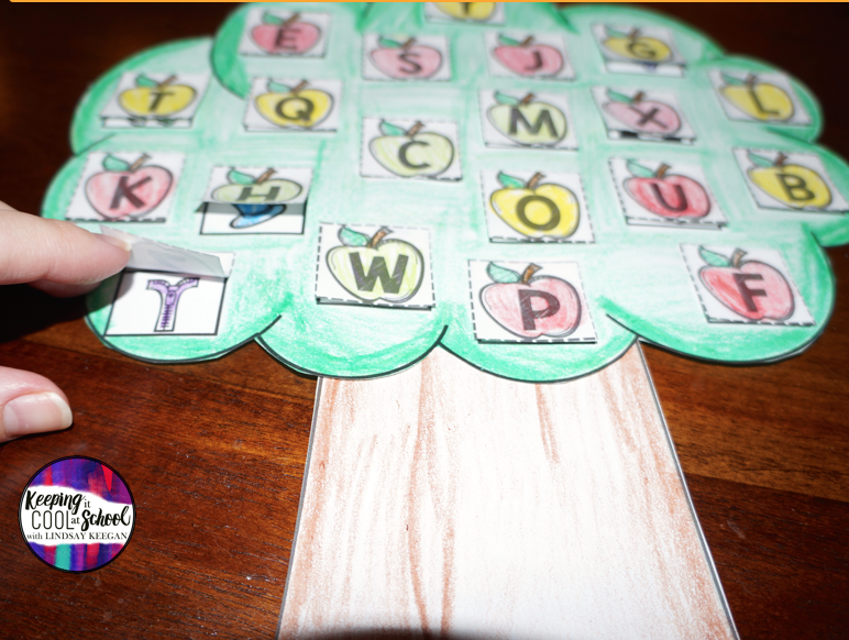 Fall Craft for Letter Sounds
